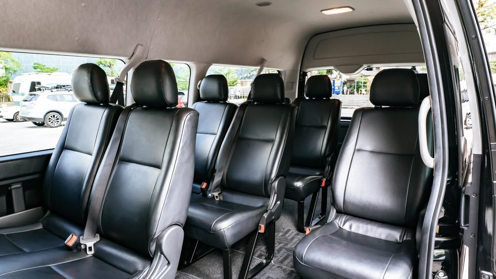 Kansai Chauffeured Airport Transfer Tour Package Toyota Hi Ace Grand Cabin