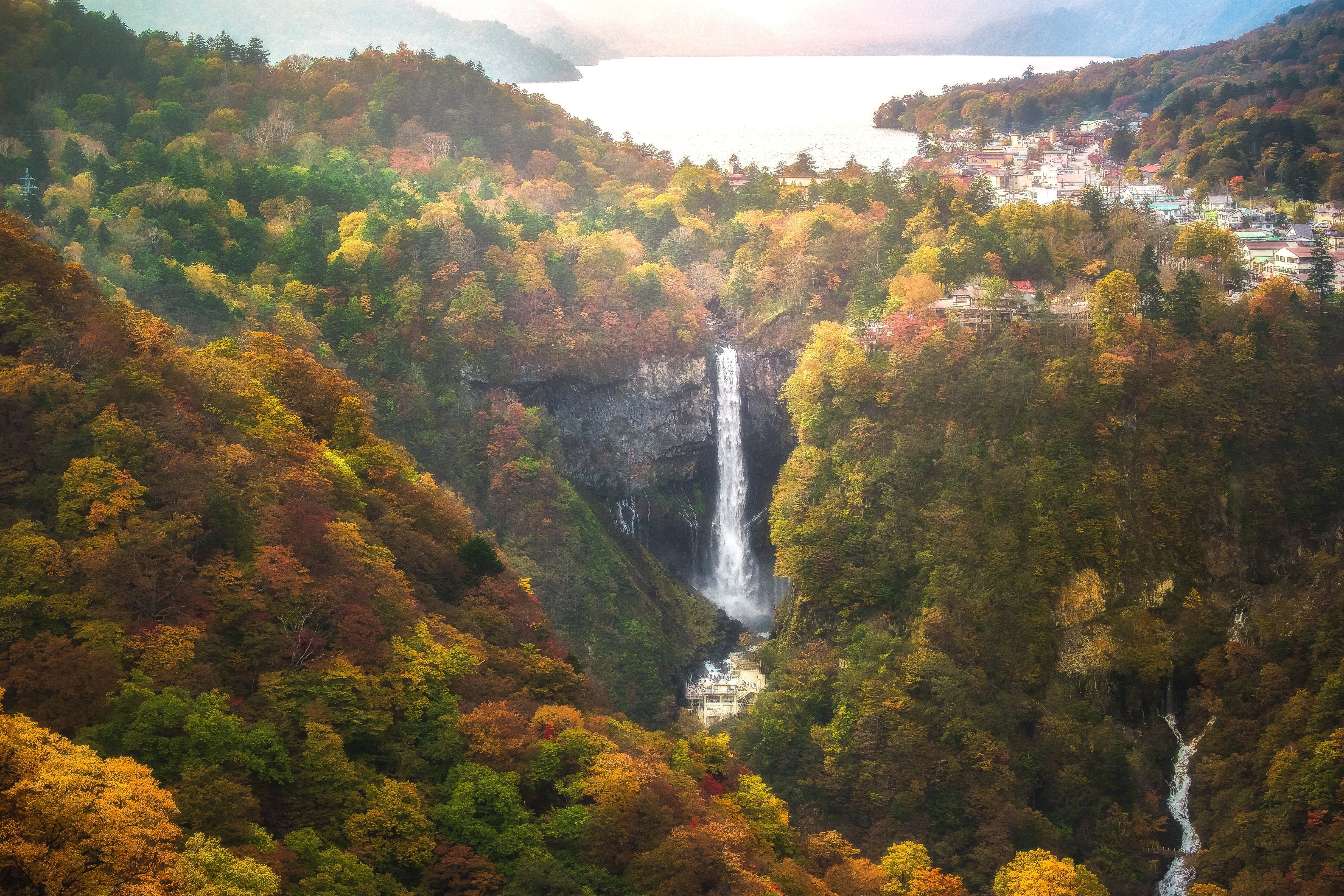 Kegon Waterfall Private Package Tour