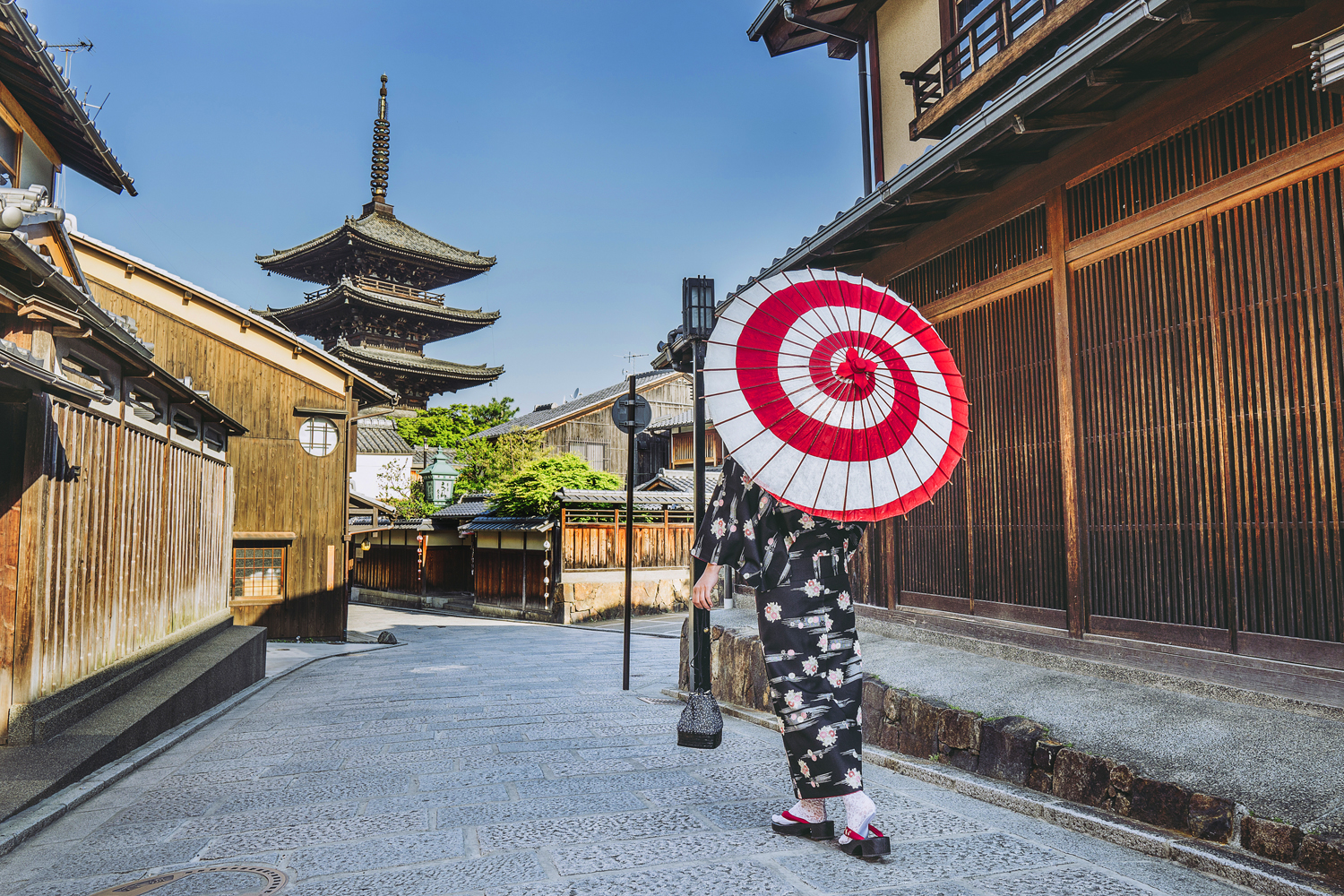 Kyoto Highlights in Kimono Private Package Tour