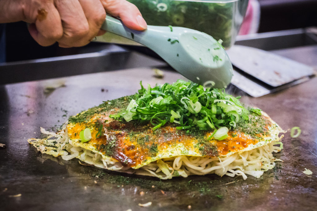 Okonomiyaki Village Private Package Tour