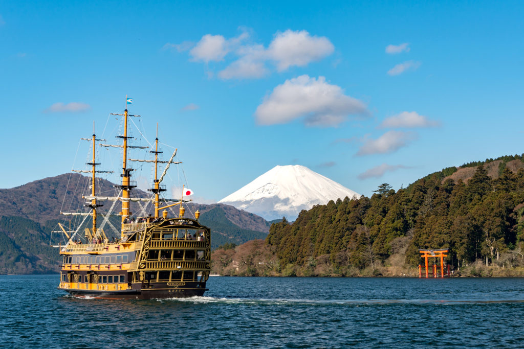 Hakone Pirate Cruise Private Package Tour
