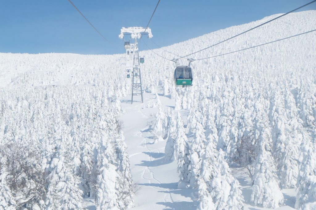 Zao Ropeway Private Package Tour