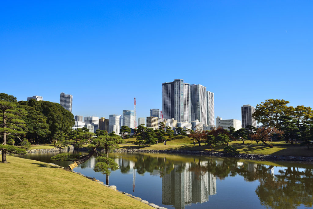 Hamarikyu Garden Private Package Tour