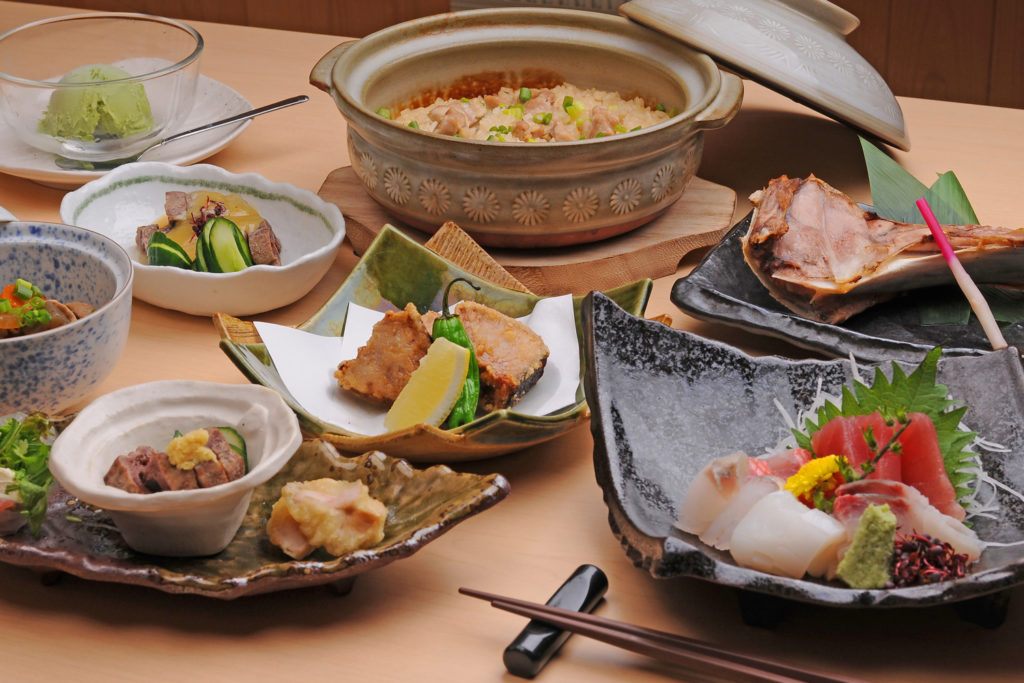 Kaiseki Lunch Private Package Tour