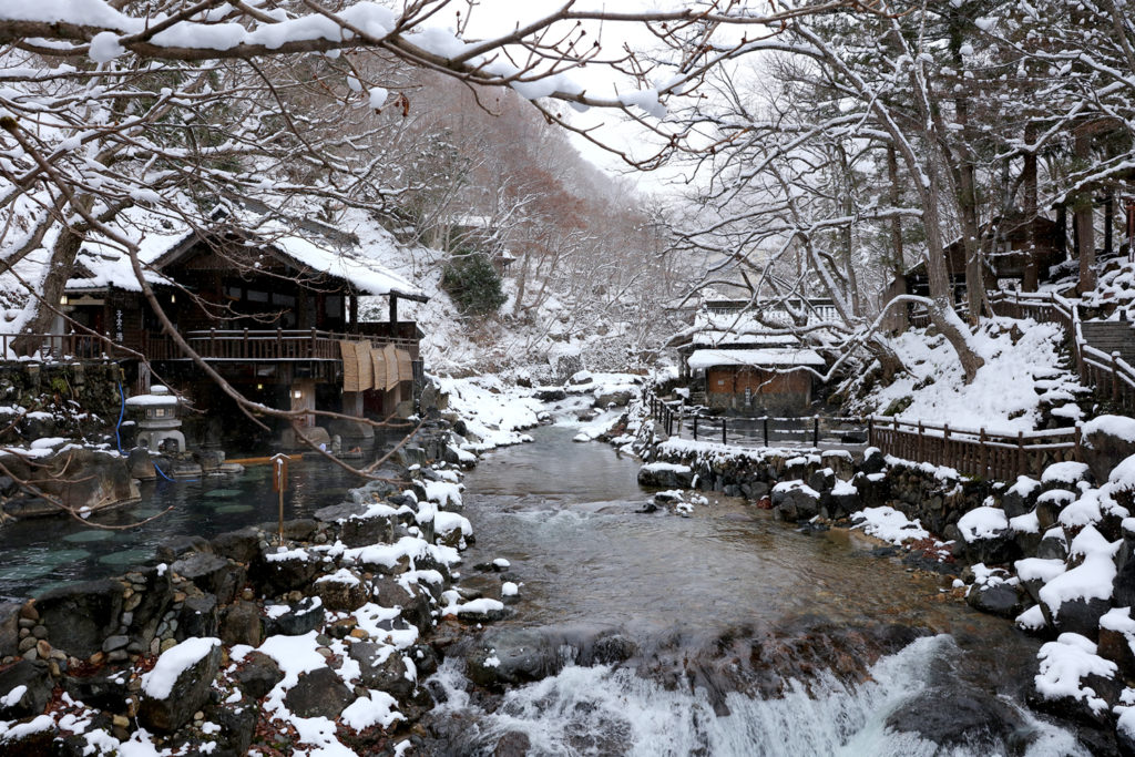 Takarawaga Onsen Onsenkaku Private Package Tour