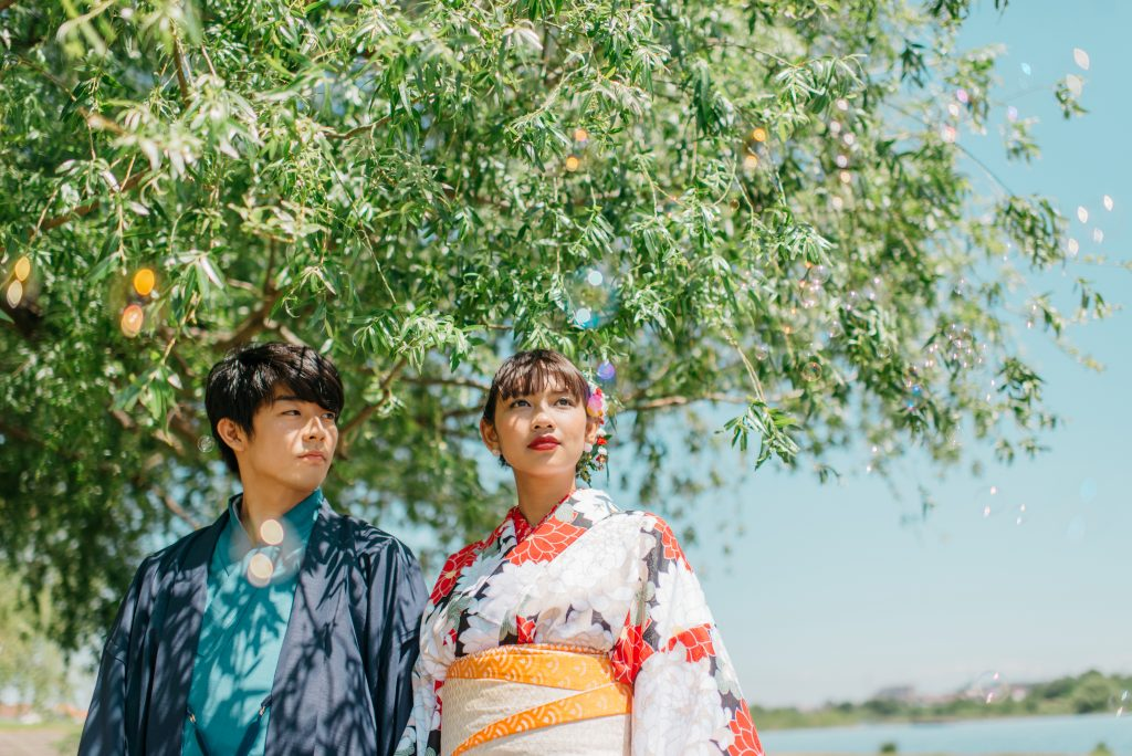 Short Honeymoon Package Kimono experience at the hotel Private Package Tour