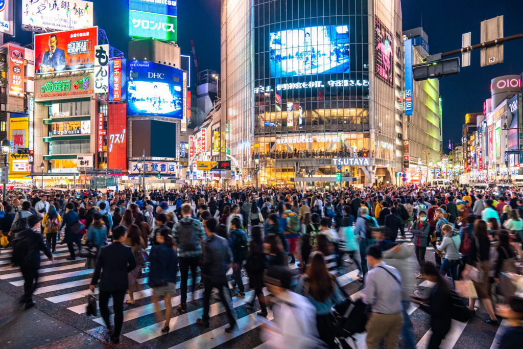 Shibuya at Night Private Package Tour