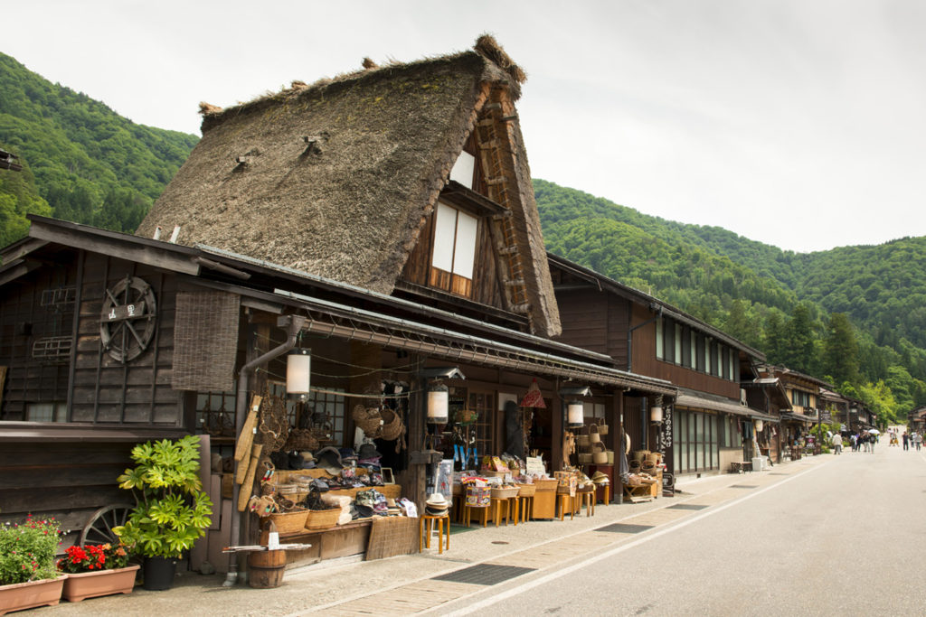 Souvenir Shops Shirakawago Private Package Tour