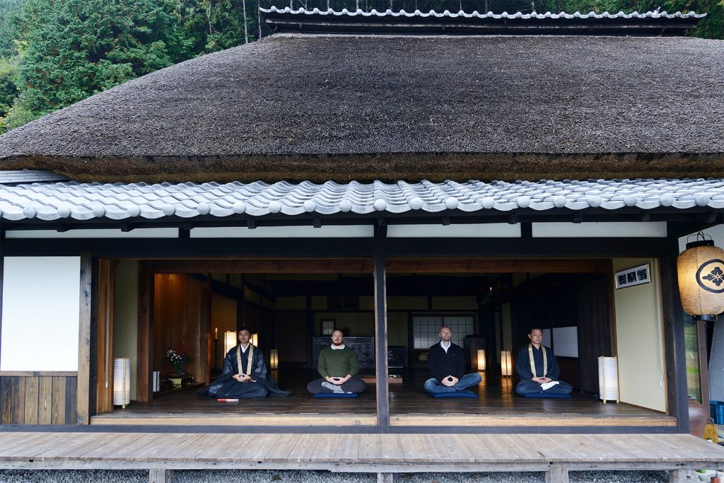 Relaxing Tokyo Zazen meditation Private Package Tour