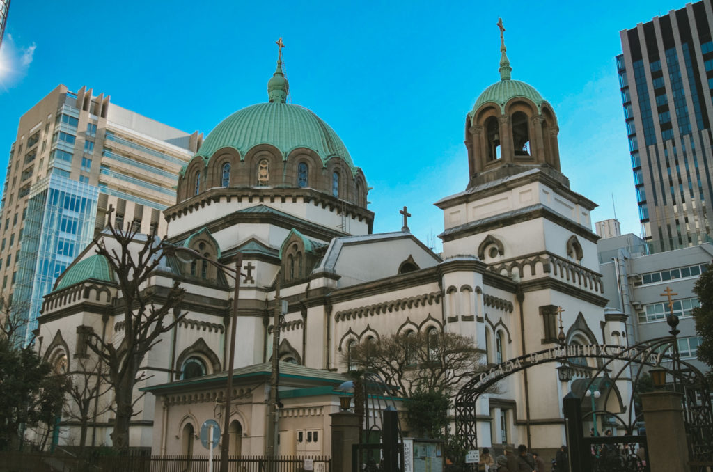 Nikolai Cathedral Discover Historical Sites in Tokyo Private Package Tour