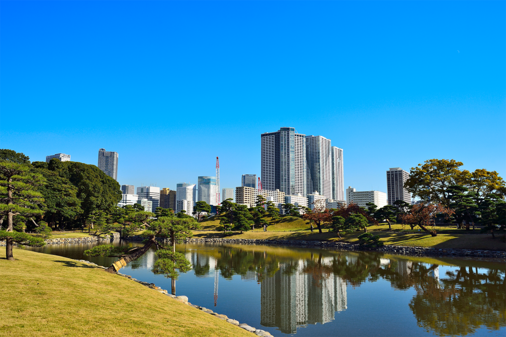 Hamarikyu Garden Experience Japanese Culture Private Package Tour