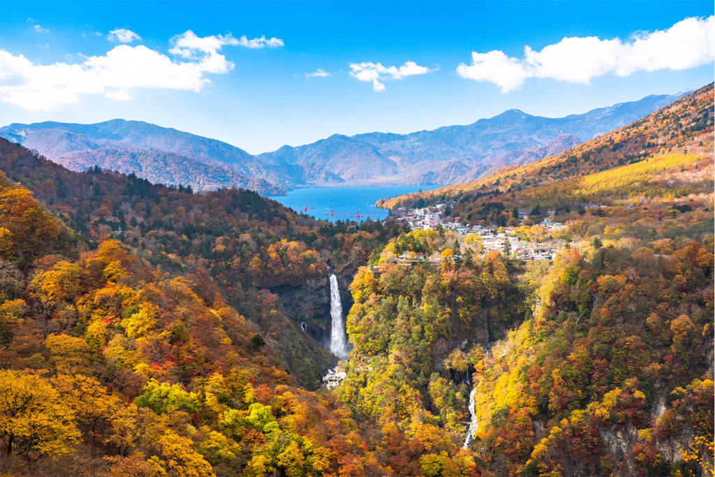 Kegon Waterfall Autumn in Nikko Private Package Tour