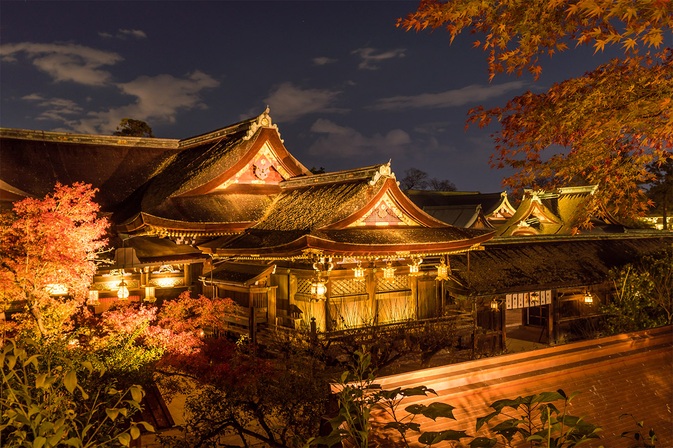 Kitano Tenmangu Autumn in Kyoto Private Package Tour
