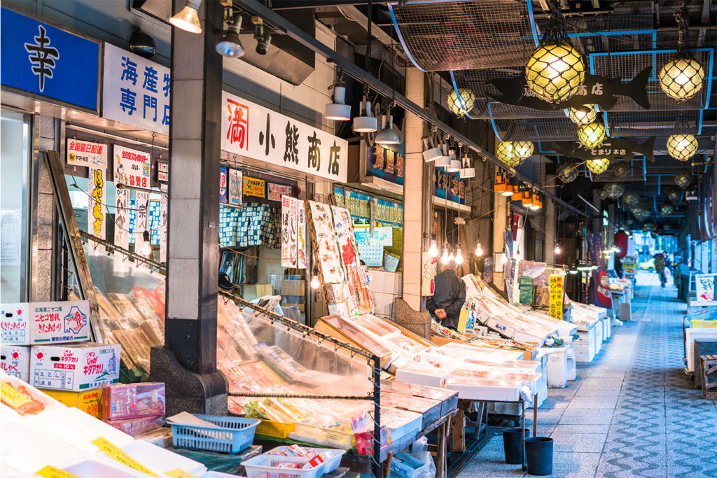 Nijo Fish Market Sapporo Highlight Private Package Tour