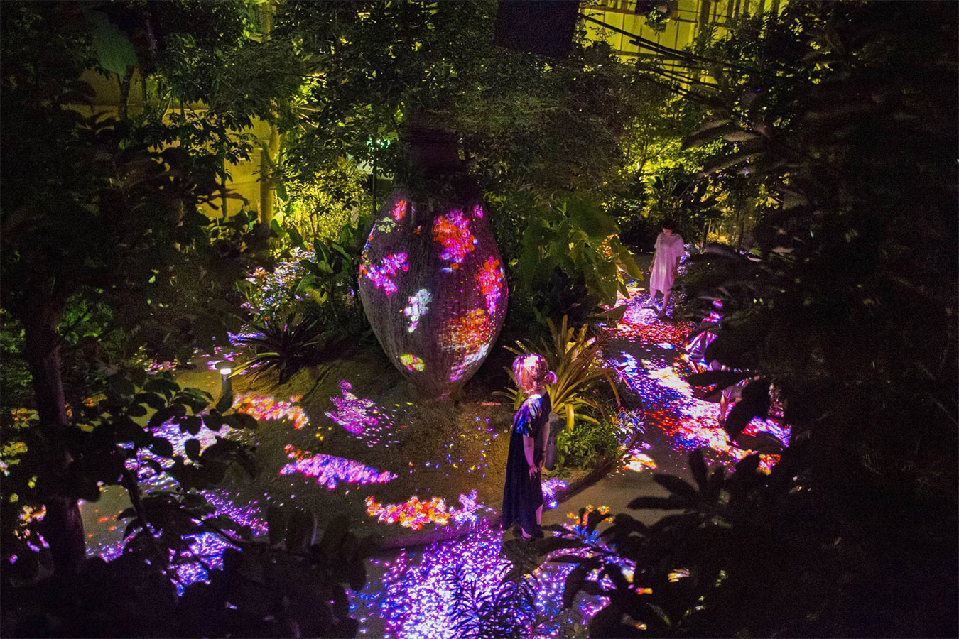 Light up in Botanical Garden Private Package Tour