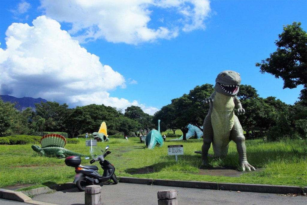 Dinosaur Park Day Tour in Kagoshima Private Package Tour