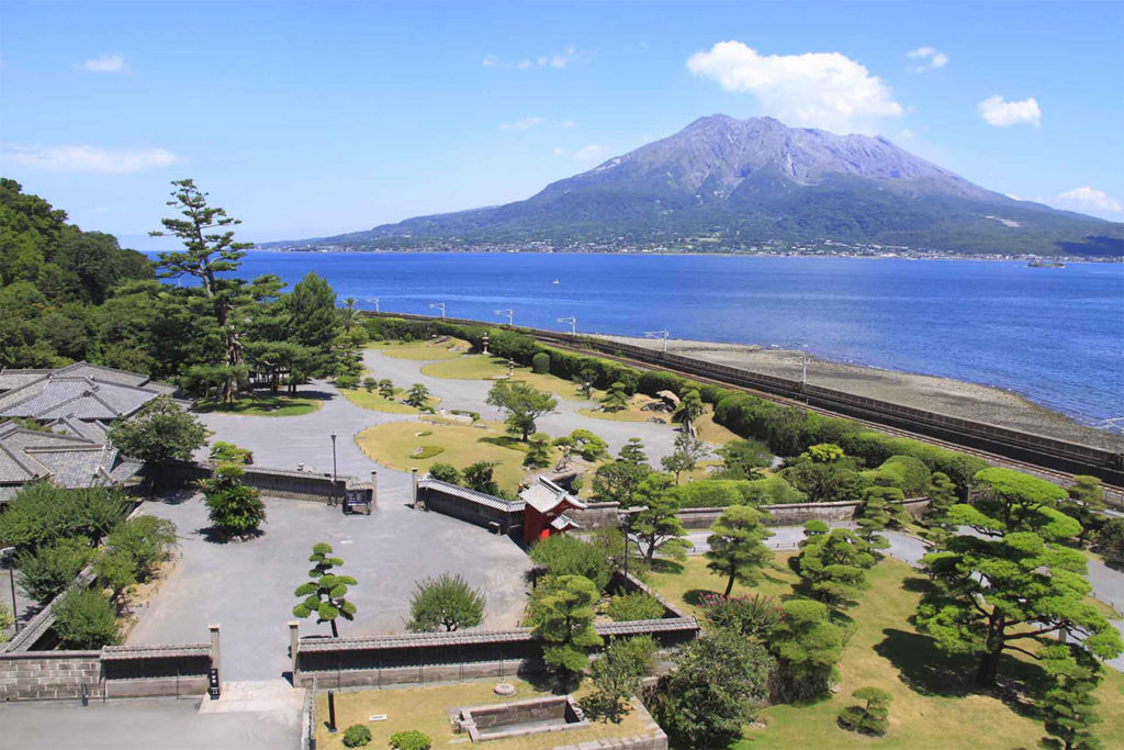 Senganen Park Day Tour in Kagoshima Private Package Tour