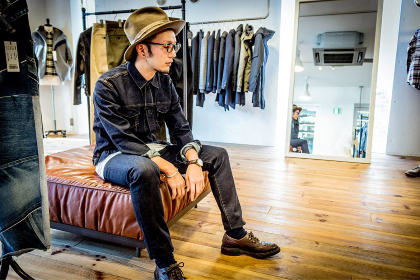 Denim Tour in Tokyo Private Package Tour