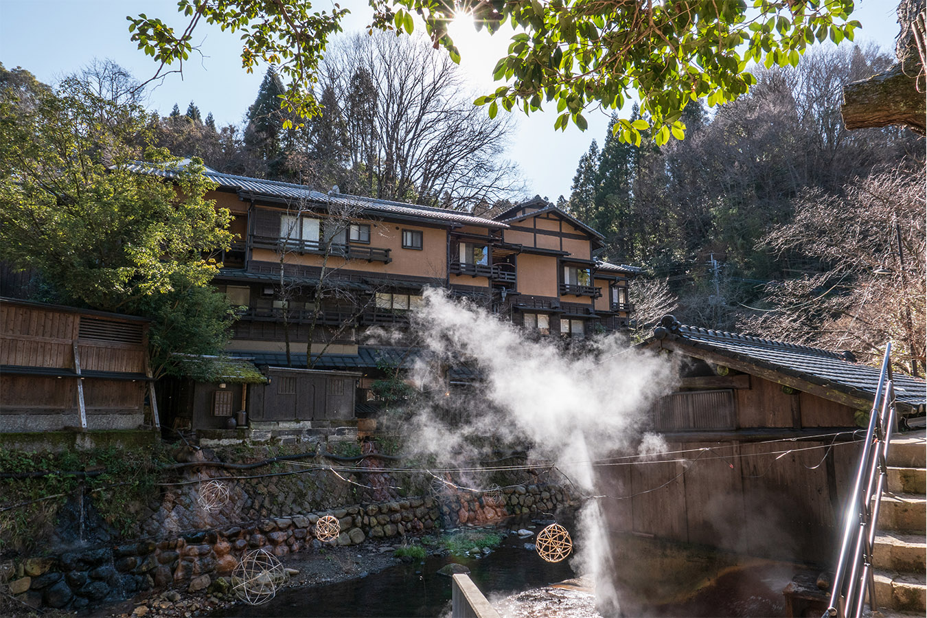 Onsen Hopping In Kurokawa Private Package Tour