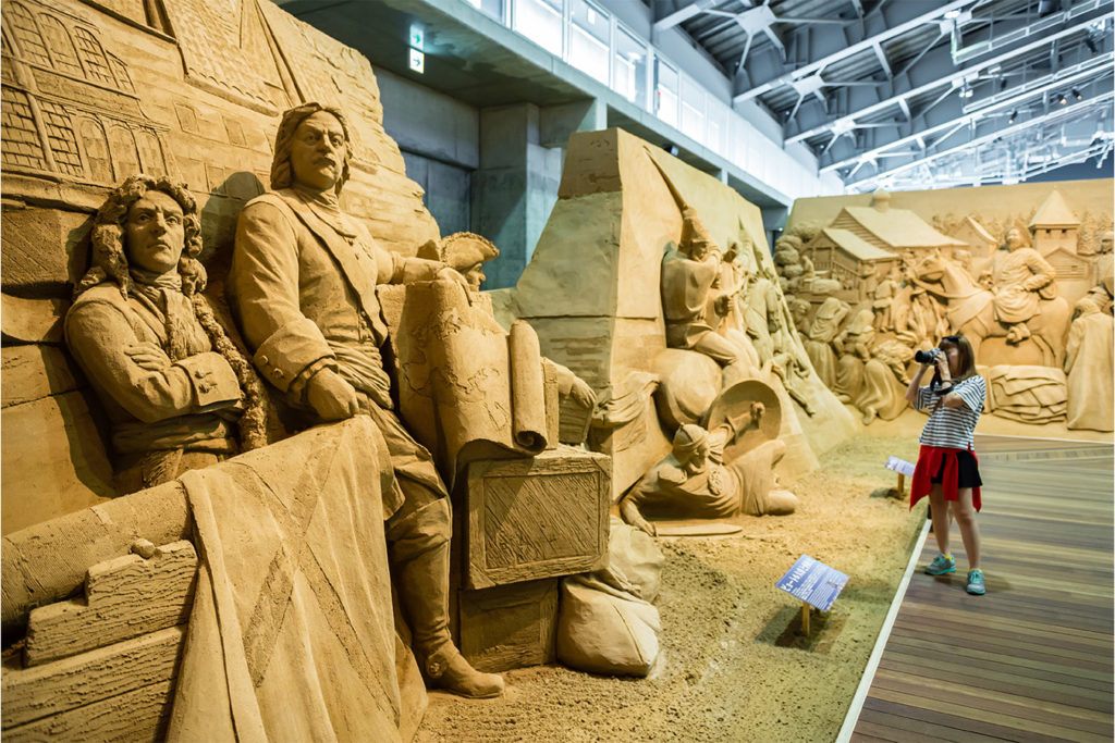 Sand Art Museum Discover Tottori Private Package Tour