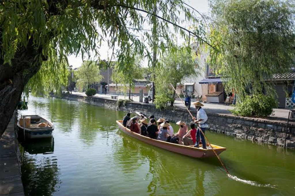 70 minutes boat tour Yanagawa Exploration Private Package Tour
